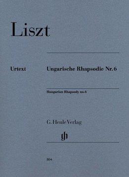 Henle Verlag Liszt   Hongaarse Rapsodie nr. 6