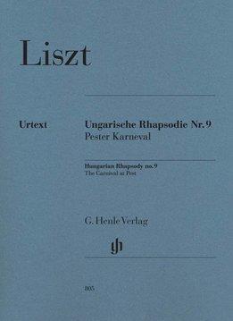 Henle Verlag Liszt   Hongaarse Rapsodie nr. 9 'Carnaval in Pest'