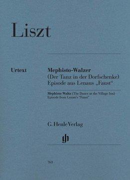 Henle Verlag Liszt   Mephisto Waltz   bladmuziek piano