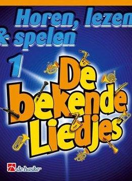 De Haske Horen, lezen en Spelen 1 | De bekende liedjes (Klarinet)
