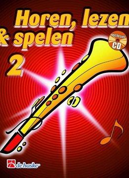 De Haske Horen Lezen & Spelen 2   sopraansaxofoon   Boek + CD