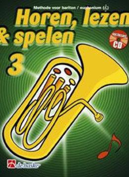 De Haske Horen, Lezen & Spelen 3 | Eufonium / bariton