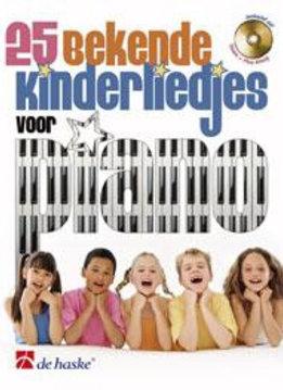 De Has 25 bekende kinderliedjes voor piano