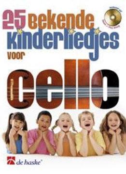 De Haske 25 bekende kinderliedjes voor cello