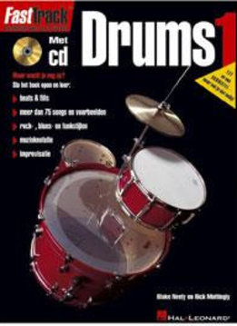 De Haske FastTrack Drums 1 (NL) | Methode voor drums + cd