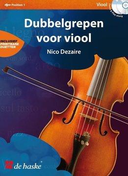 De Haske Dubbelgrepen voor Viool | Lesboek + 2cd