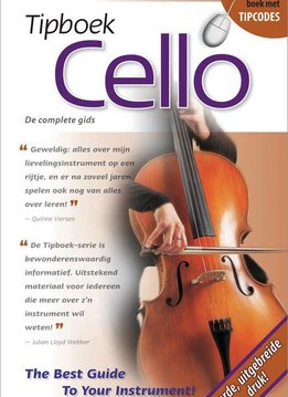 The Tipbook Company Tipboek Cello | The Tipbook Company