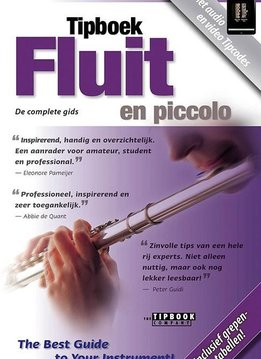 The Tipbook Company Tipboek Fluit en piccolo | The Tipbook Company