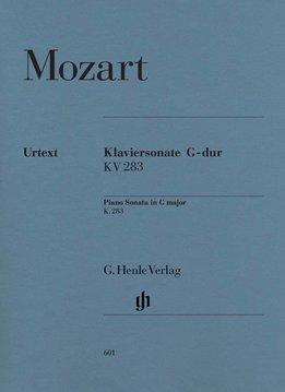 Henle Verlag Mozart | Pianosonate nr. 5 in G KV 283 (189h)