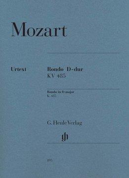 Henle Verlag Mozart | Rondo in D KV 485 | Piano solo