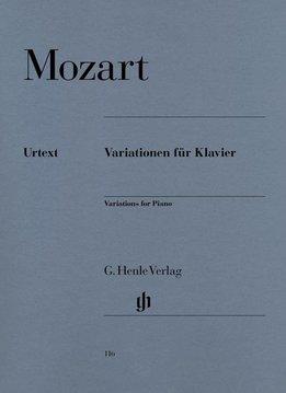 Henle Verlag Mozart | Variaties voor piano | Bladmuziek piano solo
