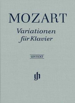 Henle Verlag Mozart | Variaties voor piano | Bladmuziek piano solo | Hardcover