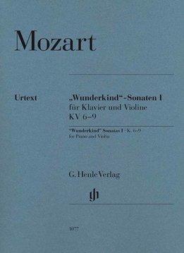 Henle Verlag Mozart | 'Wonderkind' sonates volume 1 voor piano & viool KV 6-9
