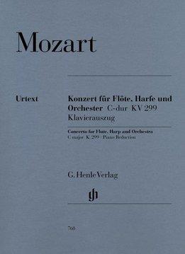 Henle Verlag Mozart | Concert in C KV 299 (297c) voor fluit, harp en orkest | Piano-uittreksel