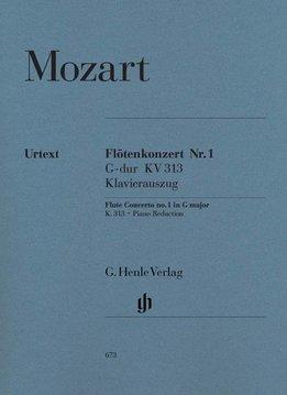 Henle Verlag Mozart | Fluitconcert no. 1 in G KV 313 (297c) | Piano-uittreksel