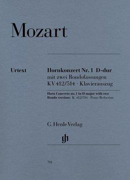 Henle Verlag Mozart | Hoornconcert nr. 1 in D KV 412/514 | Piano-uittreksel