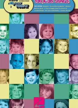 Hal Leonard 100 Kids' Songs | Mini E-Z Play Today Volume 3