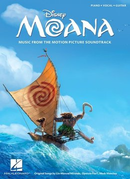 Hal Leonard Moana: Music From The Motion Picture Soundtrack (PVG)
