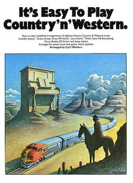 Wise Publications It's Easy To Play Country 'n' Western