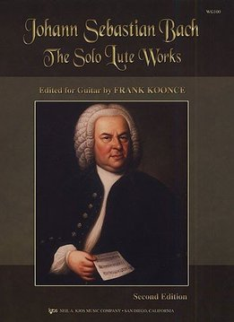 Hal Leonard Bach | Solo Lute Works Arranged For Guitar