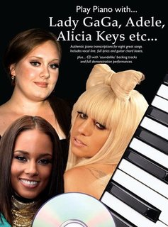 Wise Publications Play Piano With... Lady Gaga, Adele, Alicia Keys etc.