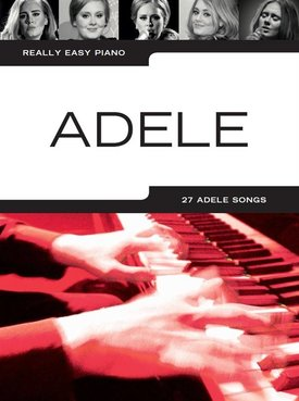 Hal Leonard Adele   Really Easy Piano (Updated Edition)
