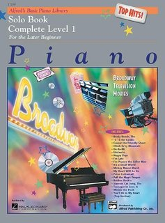 Alfred Alfred's Basic Piano Library | Top Hits  Solo Book 1