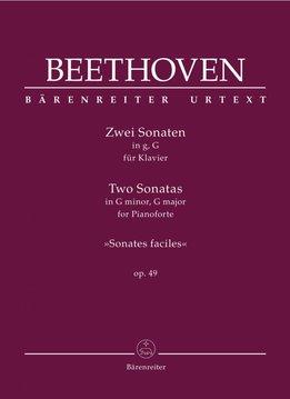 Bärenreiter Beethoven   2 pianosonates in g klein en G op. 49