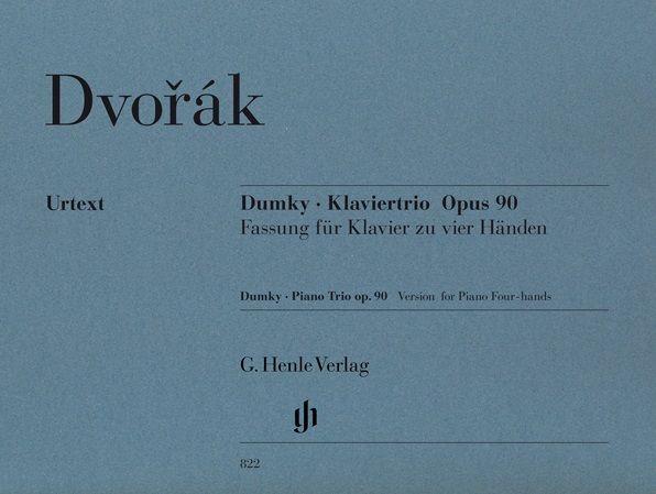 Henle Verlag Dvorák | Dumky · Piano Trio op. 90, versie voor piano vier handen
