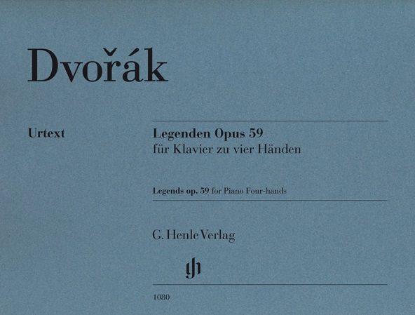 Henle Verlag Dvorák | Legends op. 59 voor piano vier handen