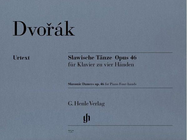 Henle Verlag Dvorák | Slavische Dansen op. 46 voor piano vier handen