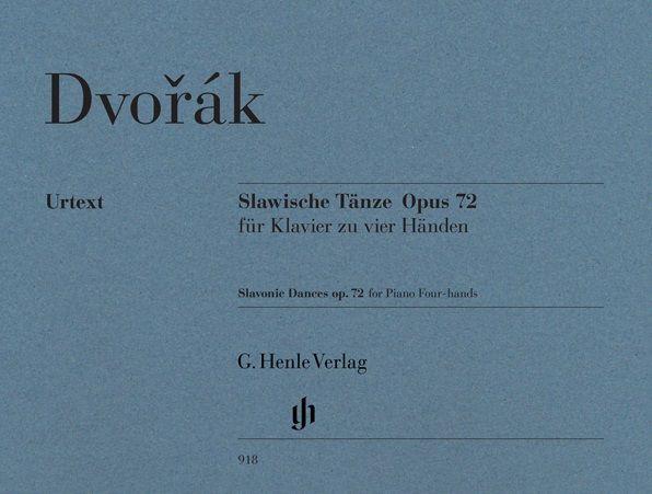 Henle Verlag Dvorák | Slavische Dansen op. 72 voor piano vier handen