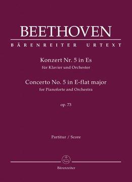 Bärenreiter Beethoven | Pianoconcert nr. 5 in Es op. 73  | Partituur