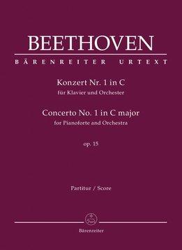 Bärenreiter Beethoven | Pianoconcert nr. 1 in C op. 15 | Partituur
