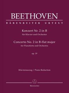 Bärenreiter Beethoven   Pianoconcert nr. 2 in Bes op. 19   Partituur