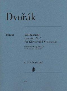 Henle Verlag Dvorák   Silent Woods op. 68 no. 5 voor cello en piano