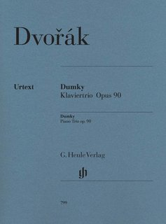 Henle Verlag Dvorák   Dumky · Piano Trio op. 90