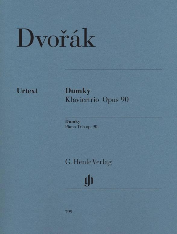 Henle Verlag Dvorák | Dumky · Piano Trio op. 90