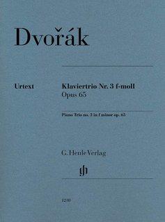 Henle Verlag Dvorák   Piano Trio nr. 3 in f klein op. 65