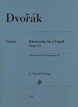 Henle Verlag Dvorák | Piano Trio nr. 3 in f klein op. 65