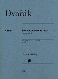 Henle Verlag Dvorák   Strijkkwartet in As op. 105