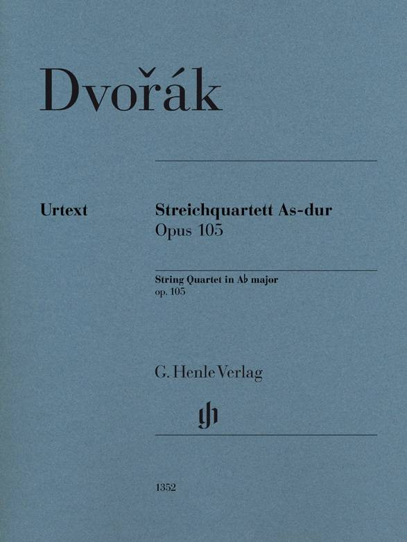 Henle Verlag Dvorák | Strijkkwartet in As op. 105