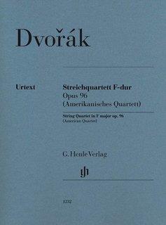 Henle Verlag Dvorák   Strijkkwartet in F op. 96 (Amerikaans kwartet)