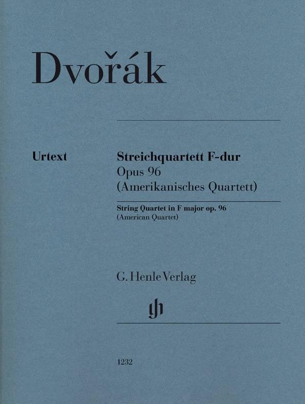 Henle Verlag Dvorák | Strijkkwartet in F op. 96 (Amerikaans kwartet)
