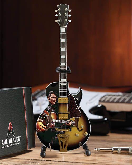 Axe Heaven Axe Heaven Miniatuur gitaar | Elvis Presley Signature '68