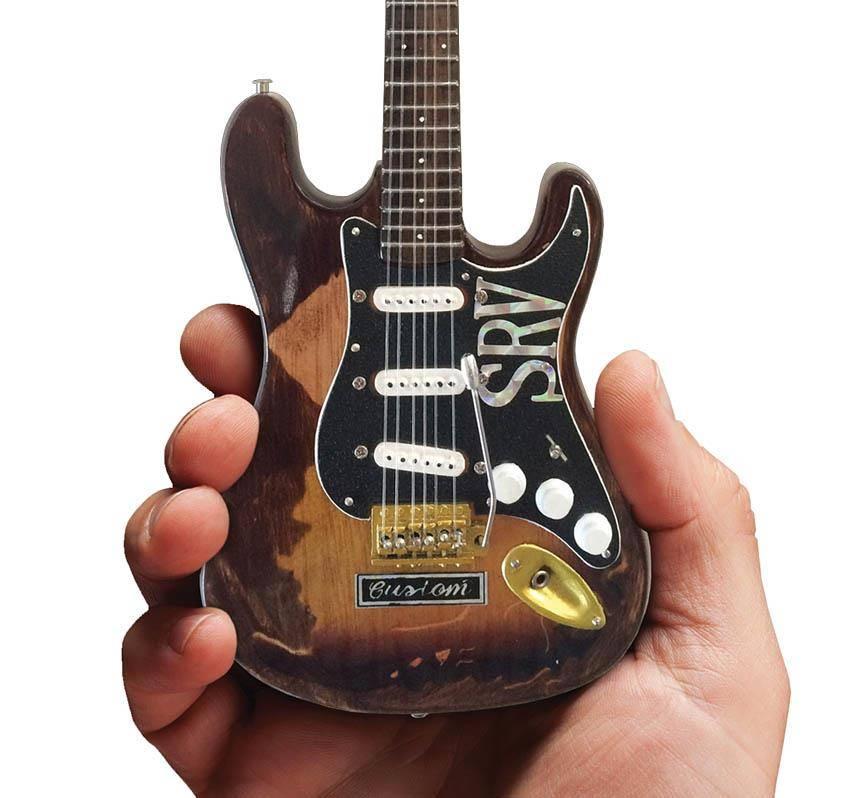 Axe Heaven Axe Heaven Stevie Ray Vaughan Fender Stratocaster miniatuur gitaar