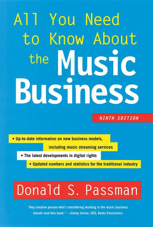 Simon & Schuster All You Need to Know About the Music Business