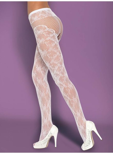 OBSESSIVE Strumpfhose T210 Weiss