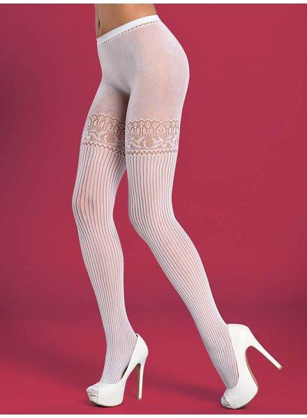 OBSESSIVE Fashion Strumpfhose Weiss t307