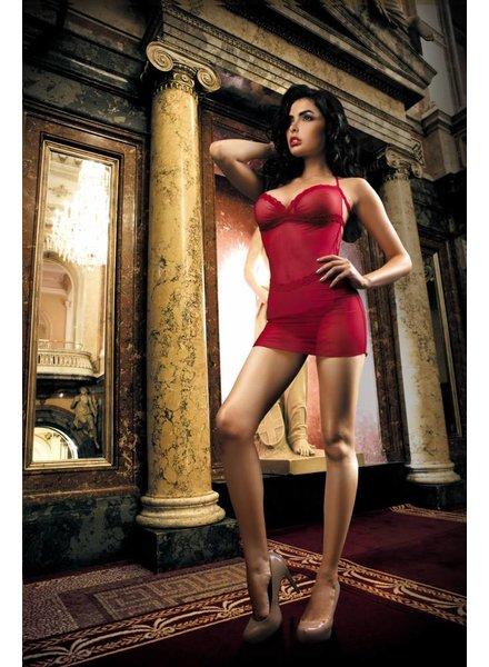 KINGA Dare Kleidchen mit String Rot